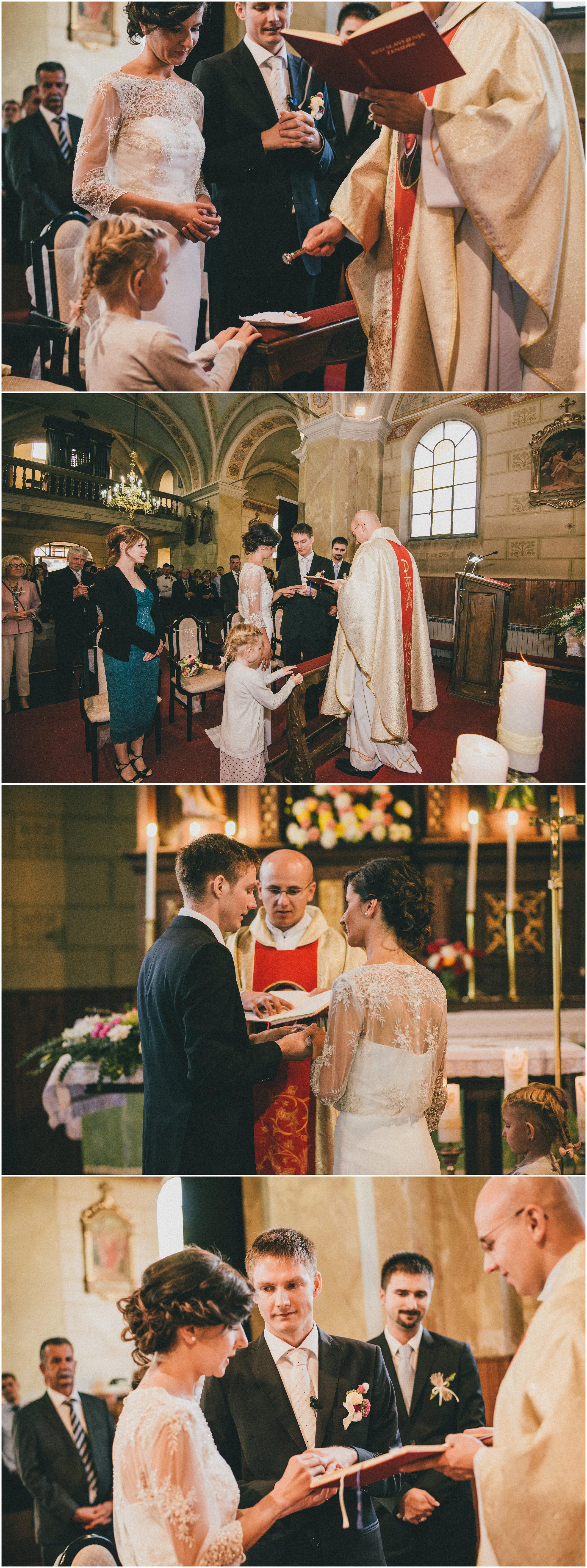 Obred vjenčanja, razmjena prstenja