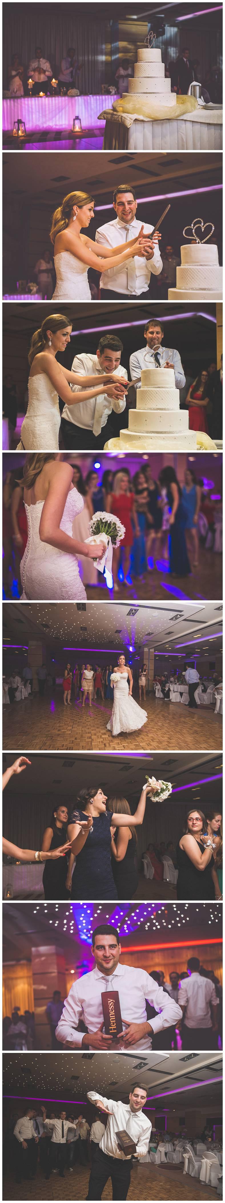 Vjenčana torta i bacanje buketa