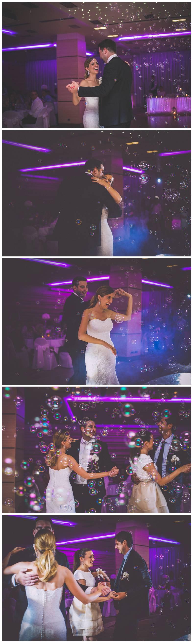 Prvi ples mladenaca u Hotelu Antunović
