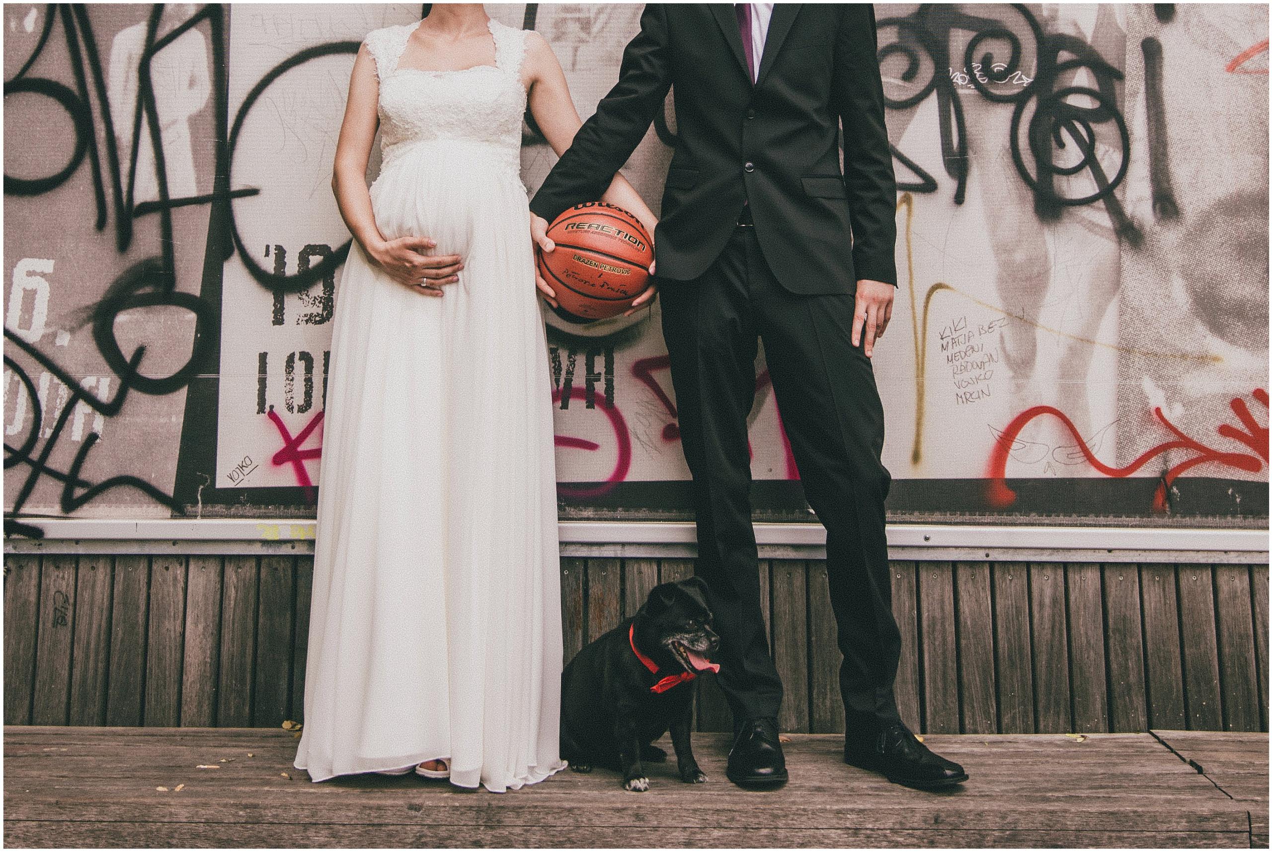 Snimanje vjenčanja na lokaciji Saloon, Tuškanac, mladenka i mladoženja