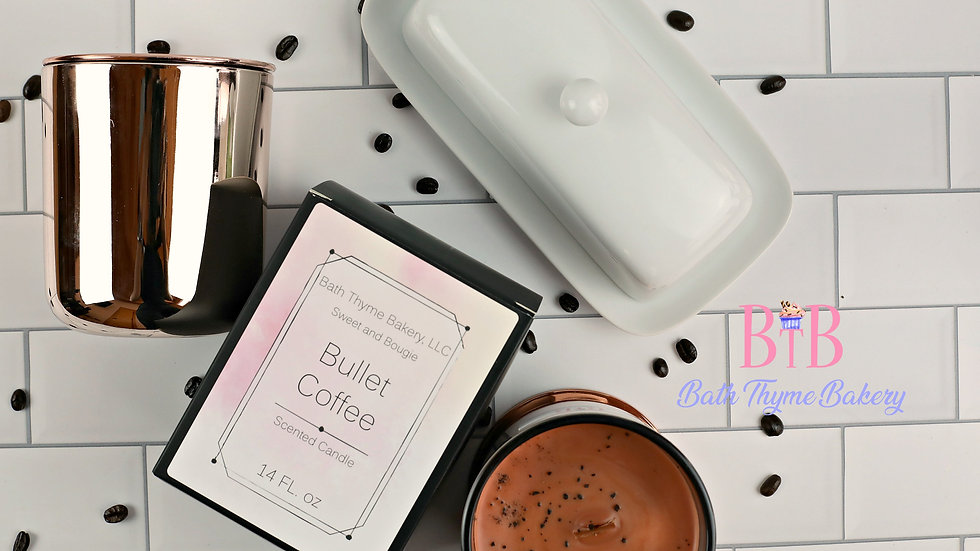 Sweet and Bougie Candle - Bullet Coffee