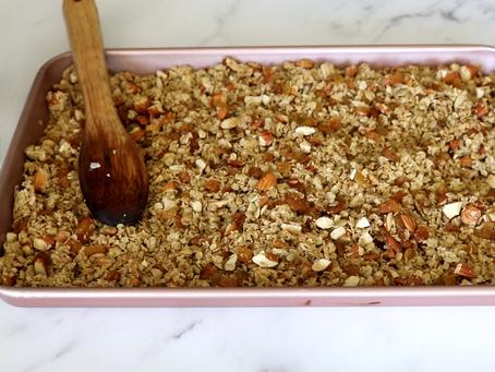 Easy & Healthy Homemade Granola