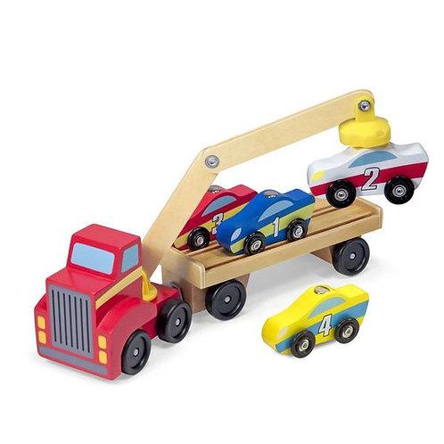 Vehiculo para carga y descarga