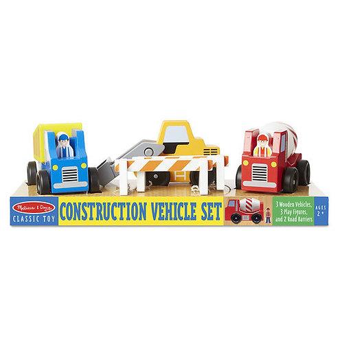 Set de Vehiculos de Construción