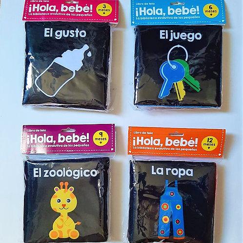 Set de Libros de Tela ¡Hola Bebe!