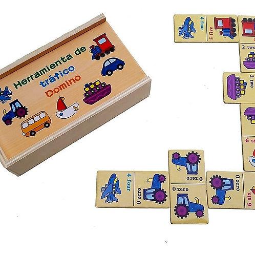 Domino de Madera Tráfico