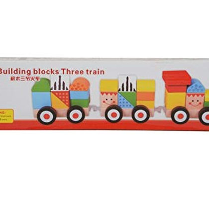Tren con mini blocks