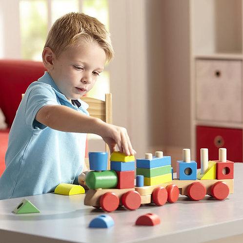 Tren para ensartar
