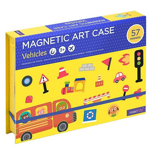 Estuche de Arte Magnetico Vehiculos