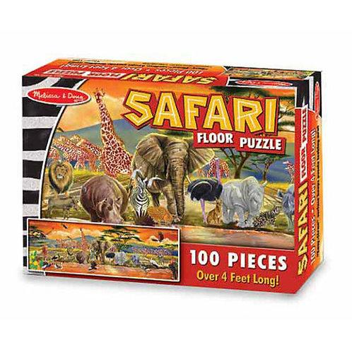 Rompecabezas de piso Safari -100 piezas