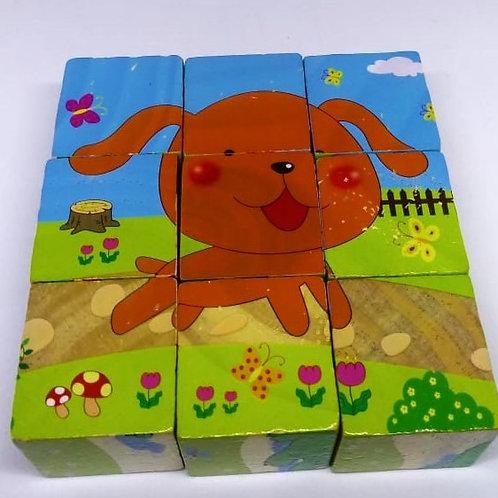 Rompecabezas de Cubo -Mascotas