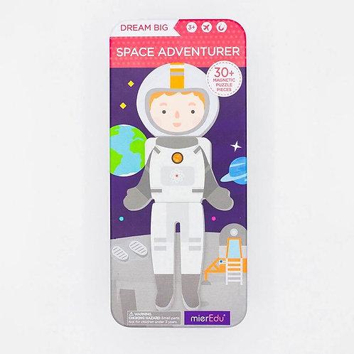 Caja de Rompecabezas Magnetico Astronauta