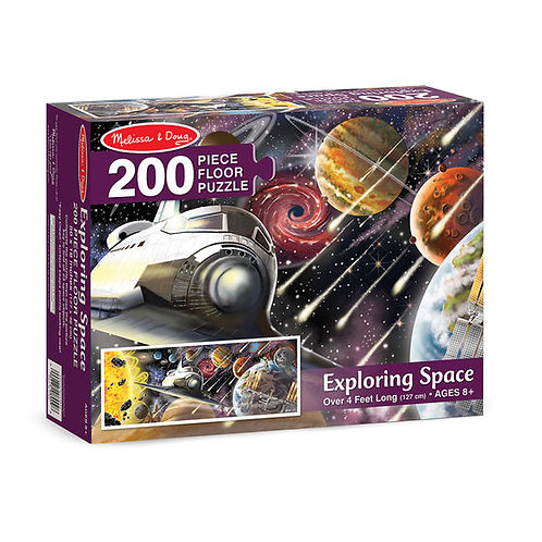 Rompecabezas de piso Explorando el espacio - 200 piezas.