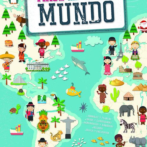 Libro Viaje alrededor del Mundo.