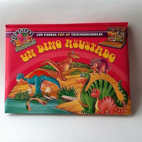 Cuento 3D Un Dino Asustado