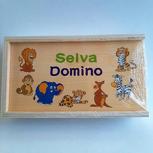 Domino de Madera Selva
