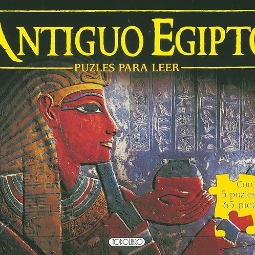 Libro Antiguo Egipto rompecabezas para leer