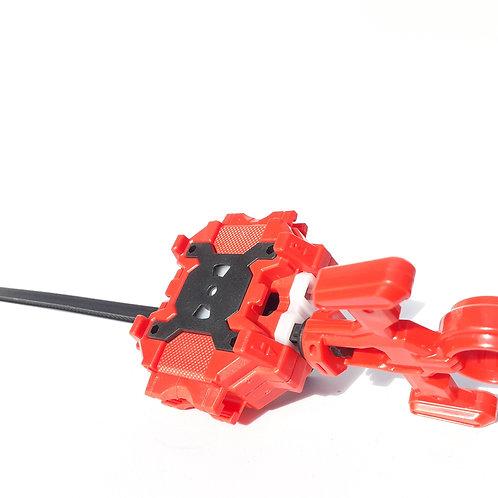 Lanzador Para Beyblade Rojo Con Negro Derecha/izquierda