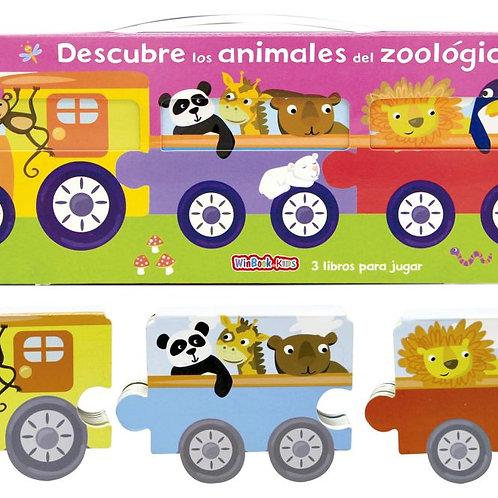 Libro Descubre los animales del Zoologico