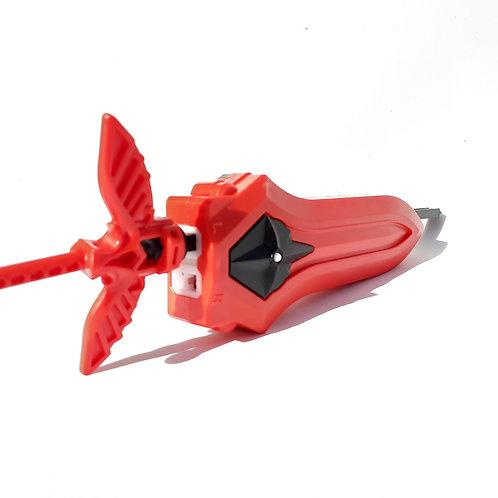 Lanzador Para Beyblade Xcallius Rojo - Izq y derecho