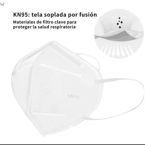 Cubrebocas KN95 de 4 capas. 10 pzas.