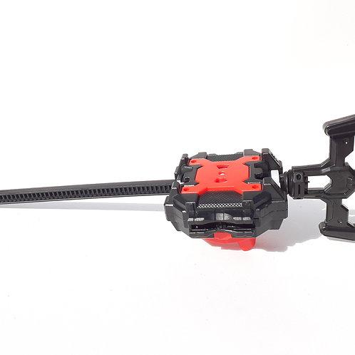 Lanzador Para Beyblade Negro Con Rojo Derecha/izquierda