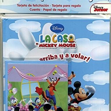 Libro Set completo Regalo Mickey Mouse