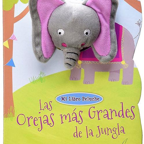 Mi libro Peluche -Las Orejas más grandes de la jungla
