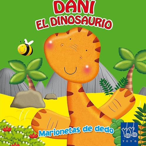 Libro con Marioneta -  Dani el Dinosaurio