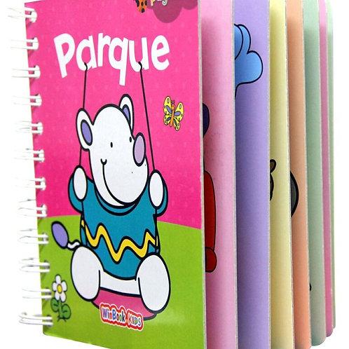 Libro paginitas Parque