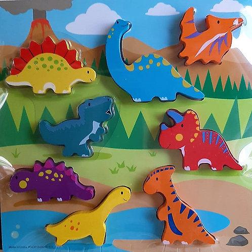 Rompecabezas Dinosaurios