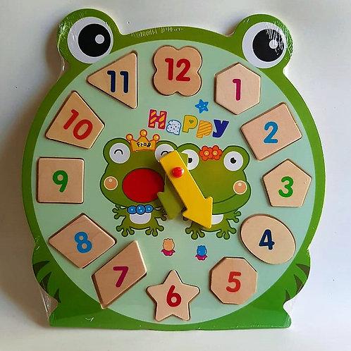 Rompecabezas Reloj Rana