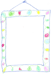 Child's drawing of adult