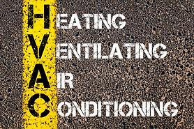 Concept image of Business Acronym HVAC a