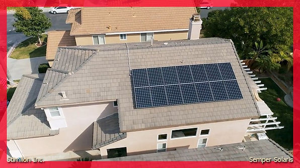 Solar installation santee