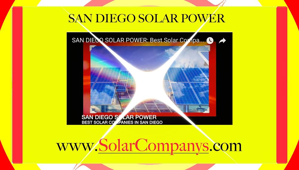 Best Solar Companies San Diego California http://solarcompanys.com