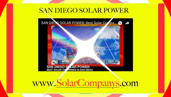 Best Solar Companies San Diego Ca