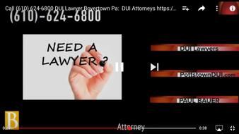 DUI Lawyers Stowe PA
