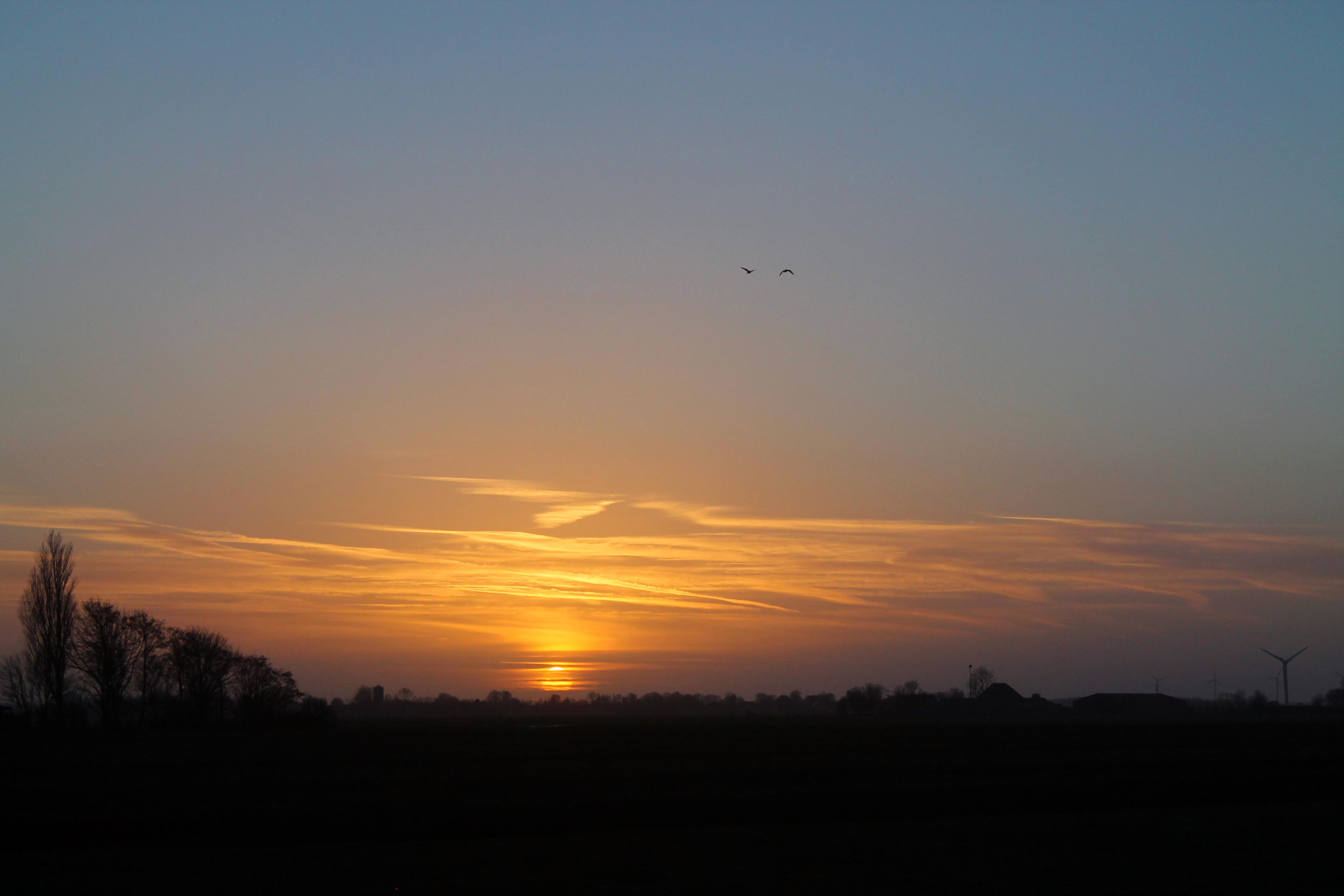 Schagen sunset