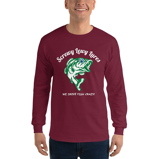 Screwy Lewy Logo Long-sleeved Shirt