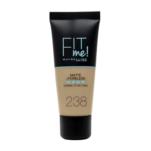 Fit Me Foundation + Poreless - 238 Rich Tan