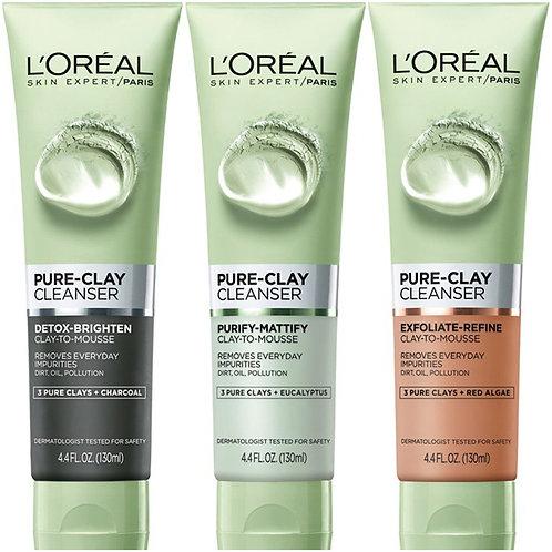 L'Oreal Paris Skin Care Pure Clay Cleanser