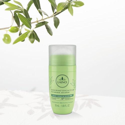 Laino Deodorant 24Hr Organic Green Tea Extract 50ml