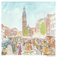 Groenmarkt in Zutphen.