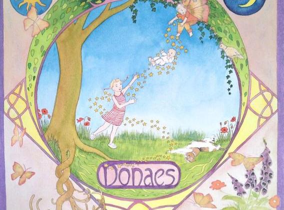 Donaes - geboortekaartje