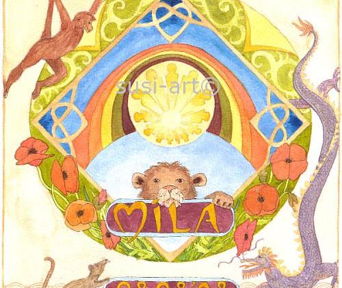 Mila - geboortekaartje