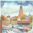 Oude Vispoorthaven in Zutphen.