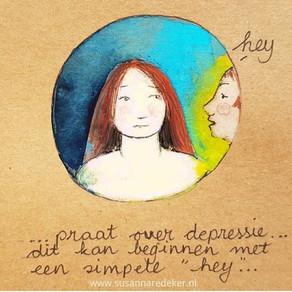 Maak depressie bespreekbaar... V