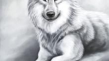 Målningen Vargen