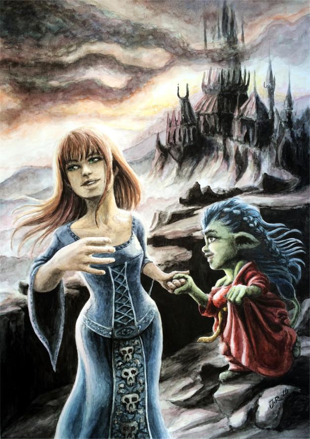 Illustration 3 till boken Och mörkret föll